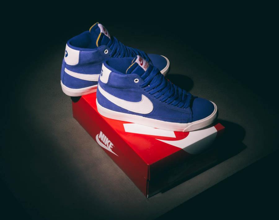 Nike Blazer Mid en suède bleu CK1906-400 (3)