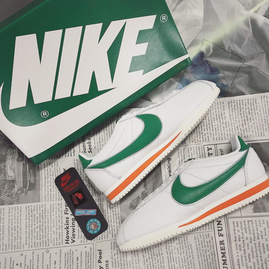 Nike Cortez White Pine Green Cosmic Clay Sail CJ6106-100 (1)