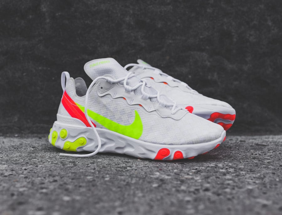Faut il acheter la Nike React Element 55 Checkerboard CJ0782