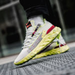 Nike React ISPA Low Volt Glow Platinum Tint/Team Red
