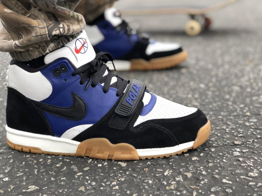 Nike SB Air Trainer 1 Mid QS Polar Skate Co (1)