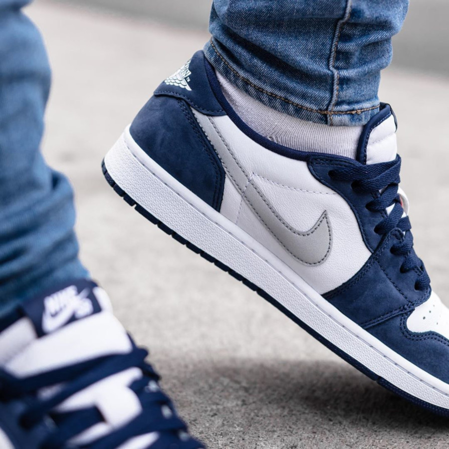 Nike SB x Air Jordan 1 Low QS Midnight Navy (3)