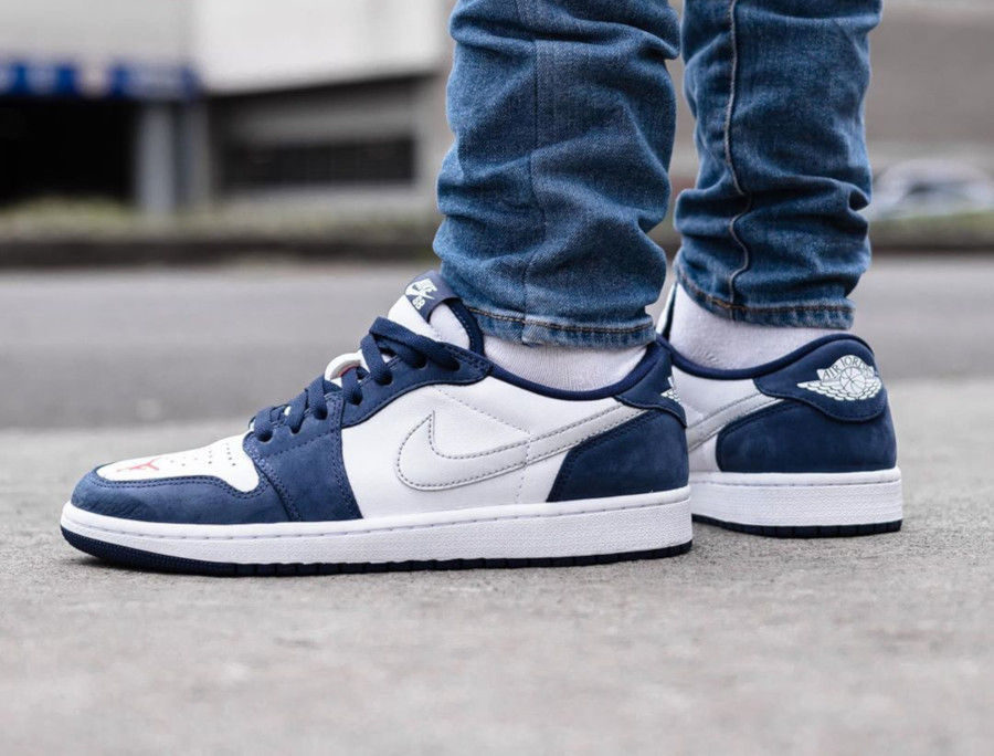 Nike SB x Air Jordan 1 Low QS Midnight Navy (5)
