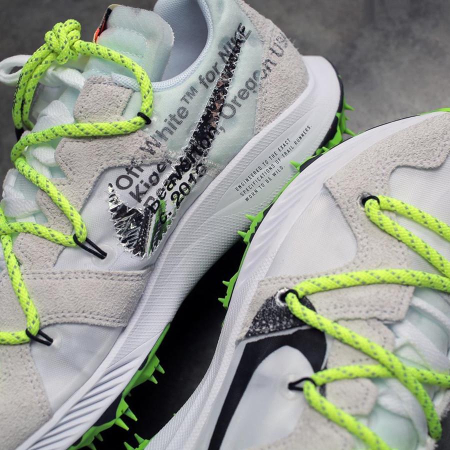 Nike Zoom Terra Kiger 5 blanche et grise (2)