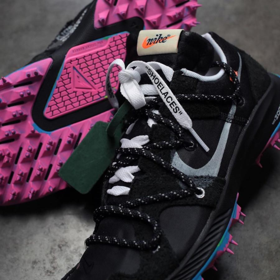 Nike Zoom Terra Kiger 5 noire et rose (3)