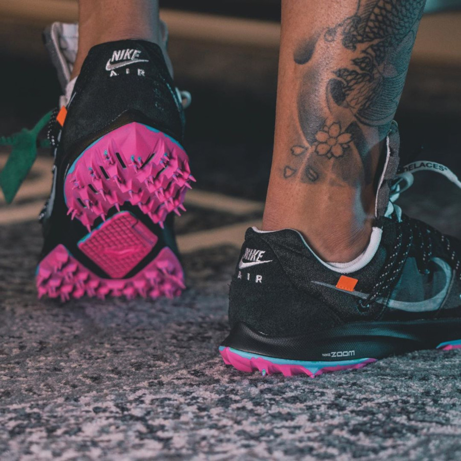 Nike Zoom Terra Kiger 5 noire et rose