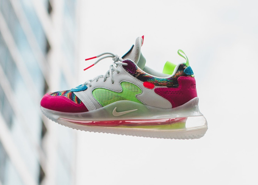 Odell Beckham Jr. x Nike Air Max 720 blanche et multicolore (1-1)