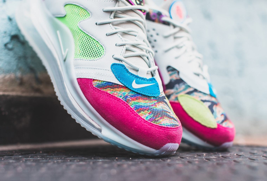 Odell Beckham Jr. x Nike Air Max 720 blanche et multicolore (4)