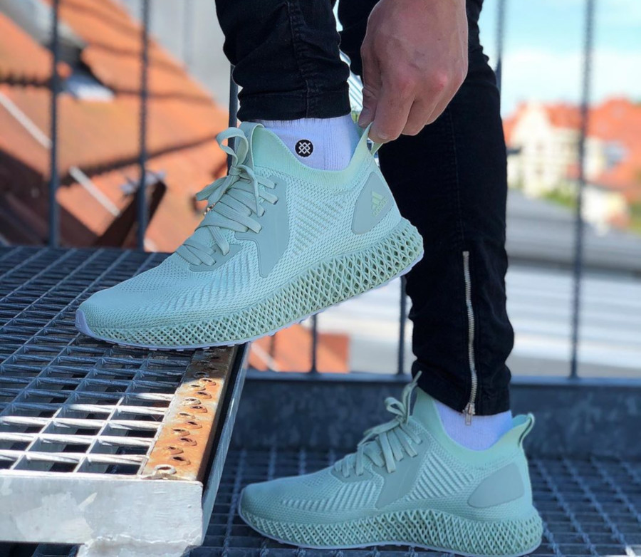 Parley for the Oceans x Adidas Alphaedge 4D Aero Green (4)