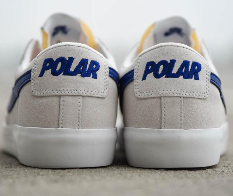 Polar Skate Co. x Nike SB Zoom Blazer Low GT Summit White (1)