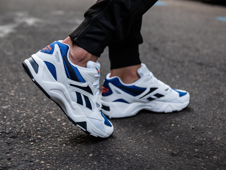Reebok Aztrek 96 White Royal Orange DV6756