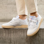Reebok Club C 85 W White Athletic Blue Red