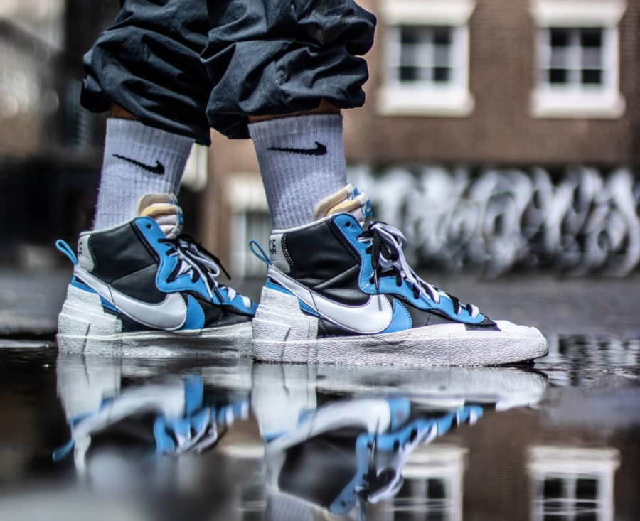 Sacai x Nike Blazer Mid University Blue - @itsjvelasco