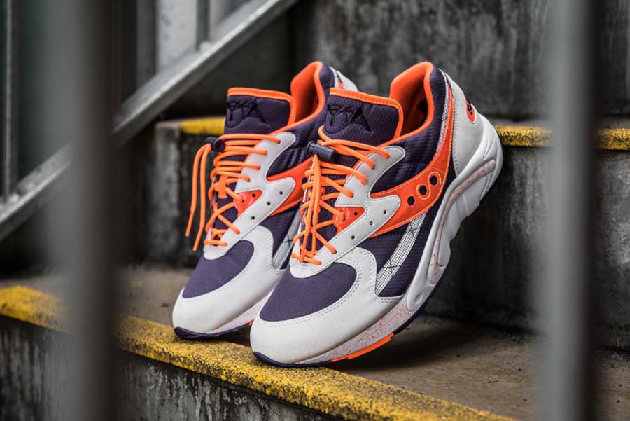 Saucony Aya Runner OG Purple Orange Retro 2019