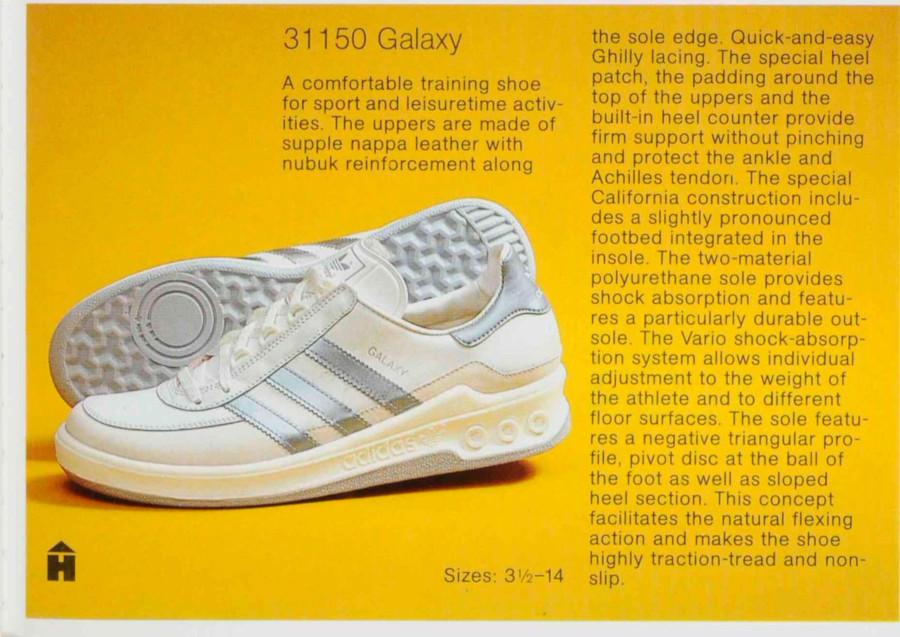 adidas galaxy vintage