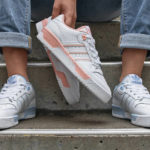 Adidas Rivalry Low W Cloud White Glow Pink & Blue