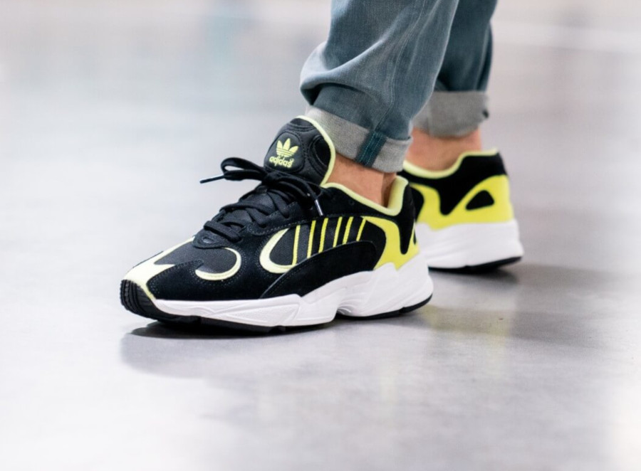 Adidas Yung-1 Black Hi Res Yellow EE5317