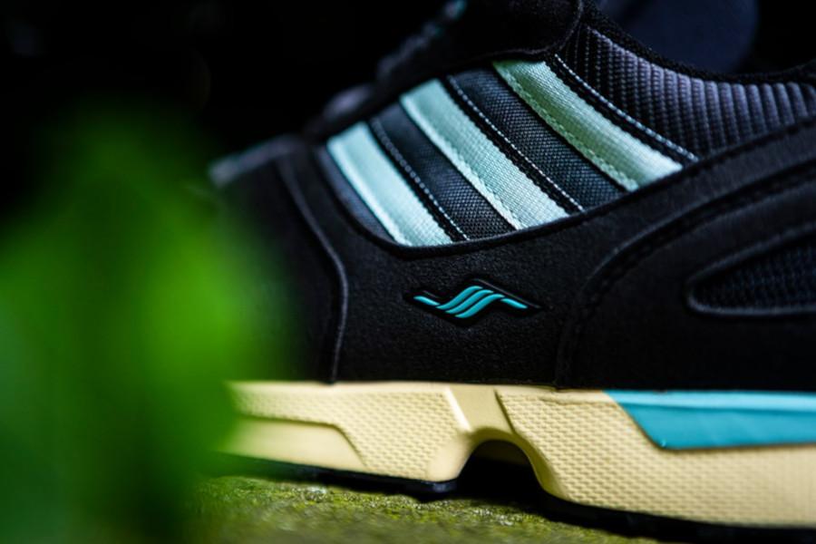 Adidas ZX 4000 noire et vert menthe (2)