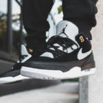 Air Jordan 3 Retro Tinker Hatfield 'Black Cement Grey Metallic Gold'