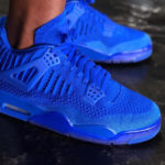 Air Jordan 4 Retro Flyknit Hyper Royal