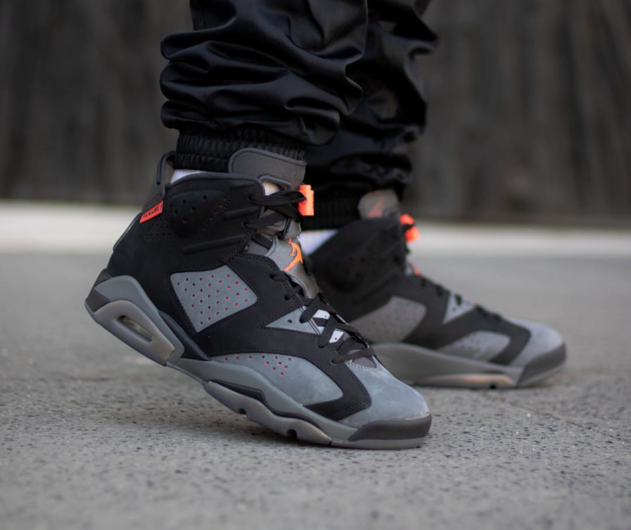 Air Jordan 6 Ici c'est Paris on feet (3)
