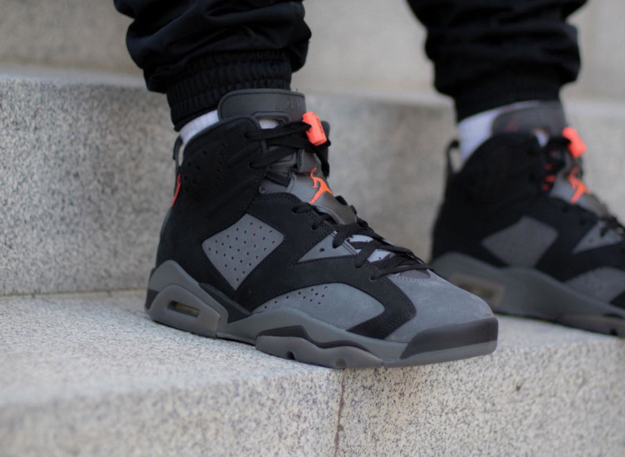 Air Jordan 6 Ici c'est Paris on feet (4)