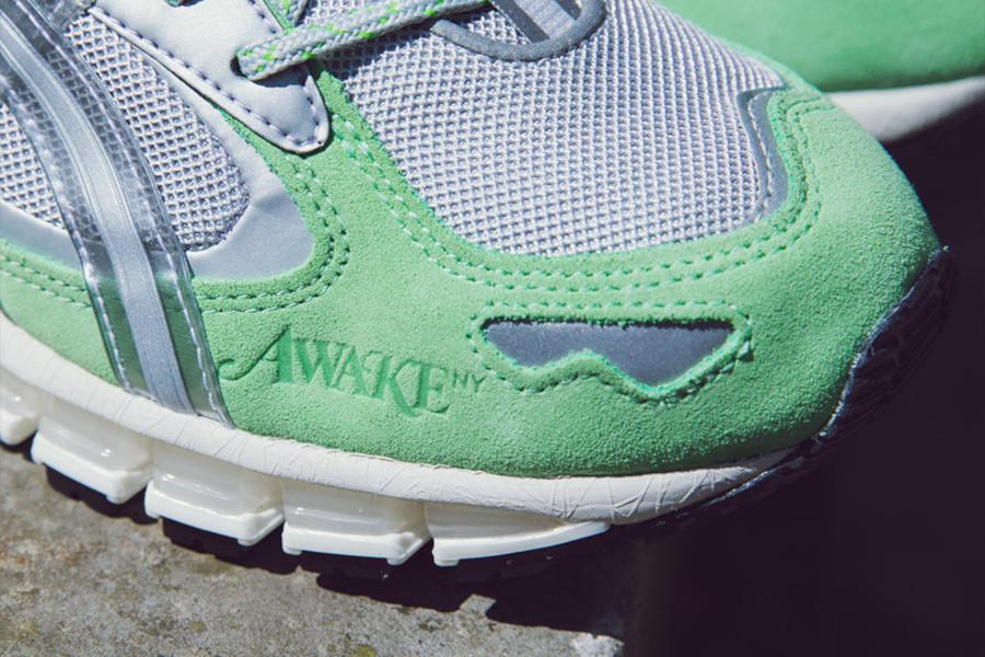 Asics Gel Kayano 5 360 gris métallique vert menthe 1021a244-020 (2)