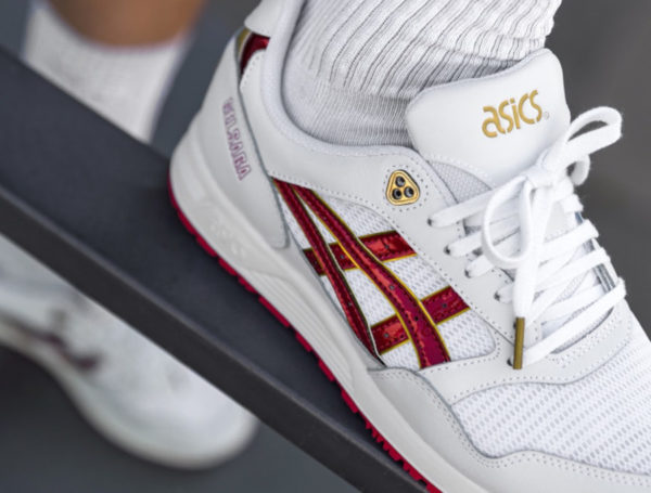 Asics Gel Saga White Speed Red 1191A231-100