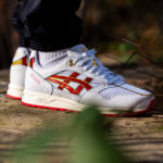 Asics Gel Saga White Speed Red
