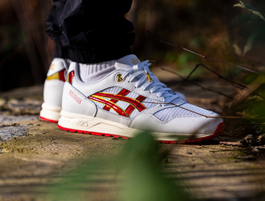 Asics Gel Saga White Speed Red 1191A231-100 (couv)