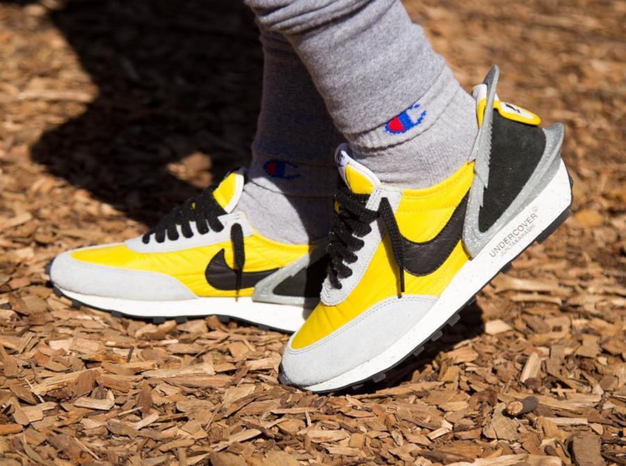 Jun Takahashi x Nike Daybreak jaune grise et noire (2)