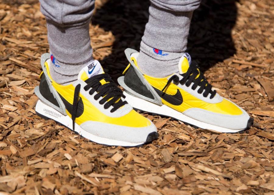 Jun Takahashi x Nike Daybreak jaune grise et noire (3)