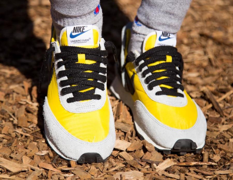 Jun Takahashi x Nike Daybreak jaune grise et noire (4)