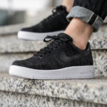 Nike Air Force 1 Flyknit 2.0 'Black White Anthracite'