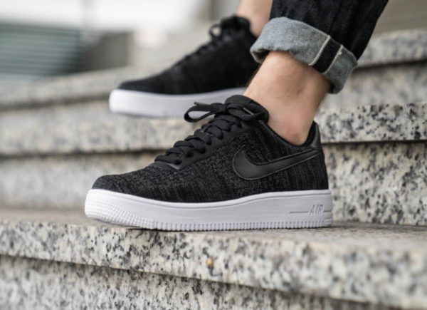 buy popular 79936 084ea Nike Air Force 1 Flyknit 2.0 noir Black CI0051-001