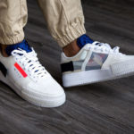 Nike Air Force 1 Drop Type 'Summit White Red Orbit'