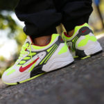 Nike Air Ghost Racer OG 'White Atom Red Neon Yellow'