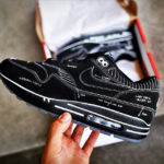Nike Air Max 1 'Tinker Schematic Black' (Sketch to Shelf)