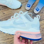 Nike Air Max 270 React 'American Modern' Summit White Ghost Aqua
