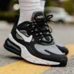 Nike Air Max 270 React 'Optical Art' Black Vast Grey