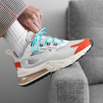 Nike Air Max 270 'Mid Century Modern' Light Beige Chalk Orange