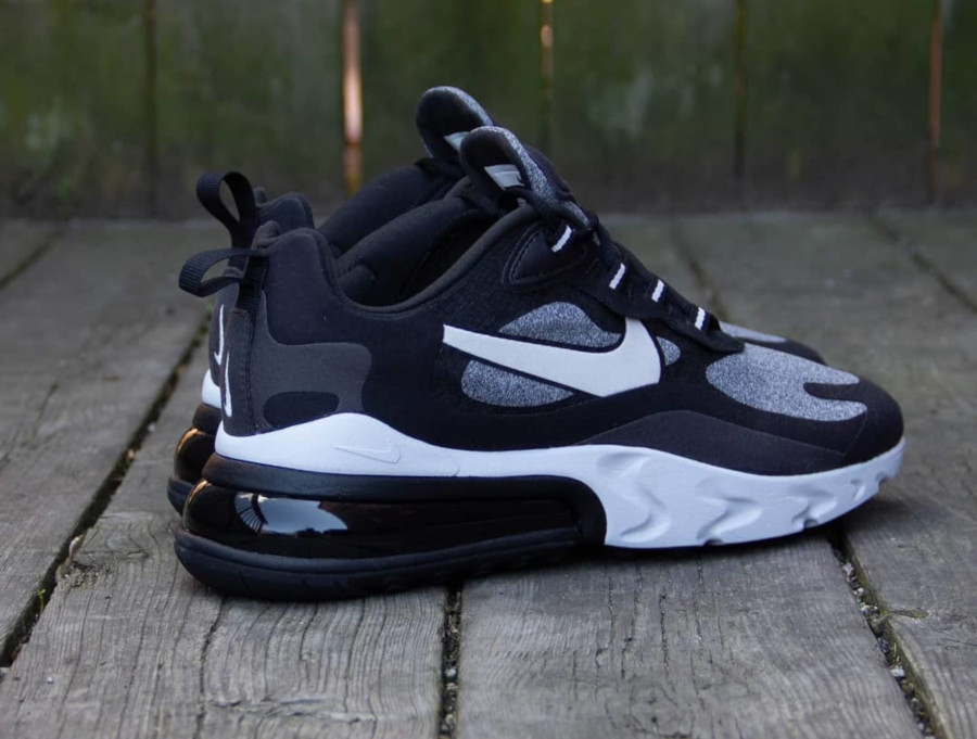 air max 270 react noir homme