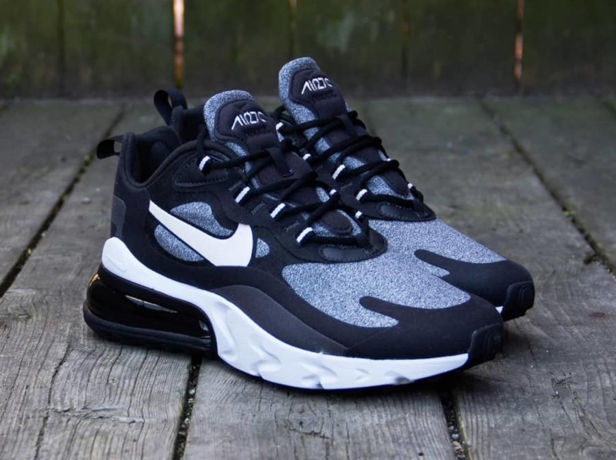 Nike Air Max 270 React grise et noire (3)