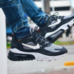 Nike Air Max 270 React 'Optical Art' Black Vast Grey
