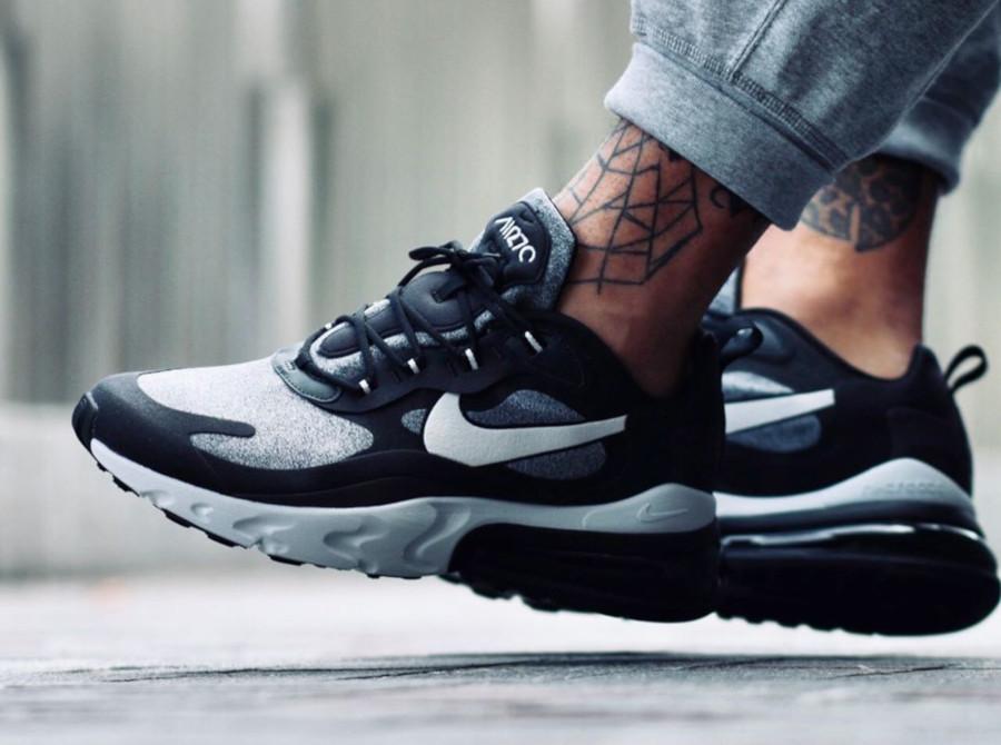 Nike Air Max 270 React grise et noire (6)