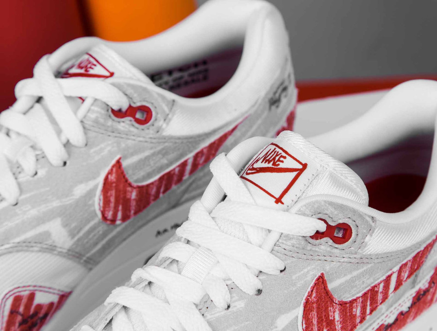 Nike Air Max 87 rouge style croquis quickstrike (6)