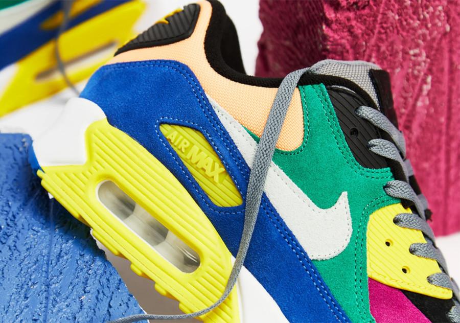 Nike Air Max 90 Premium multicolore cd0917-300 (2)