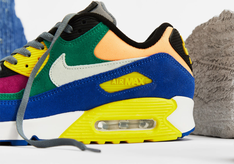 Nike Air Max 90 Premium multicolore cd0917-300 (3)