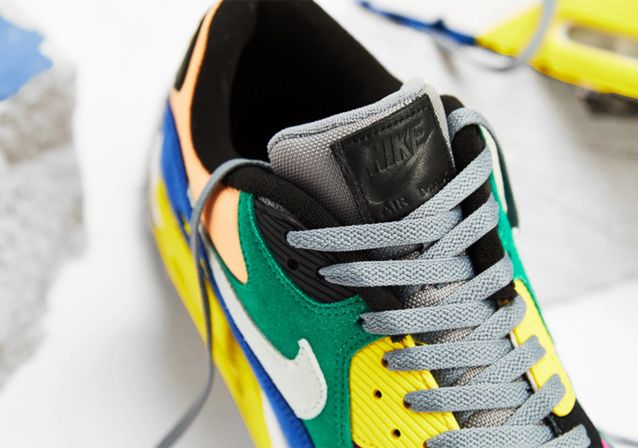 Nike Air Max 90 Premium multicolore cd0917-300 (4)