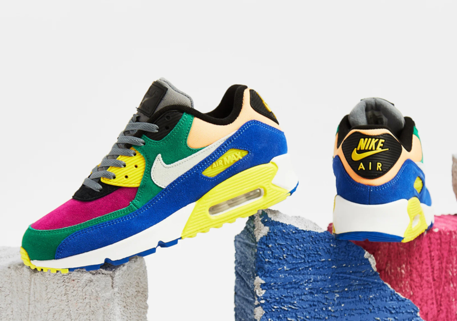 Nike Air Max 90 Premium multicolore cd0917-300 (5)
